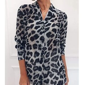 - - ✳️1 HOUR SALE✳️  Leopard TOP